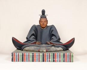 ㈰木造徳川家康坐像